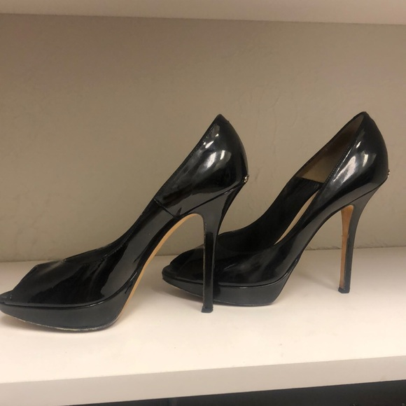 Authentic Dior peep toe heels